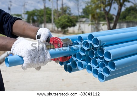 how to cut a slit in pvc pipe