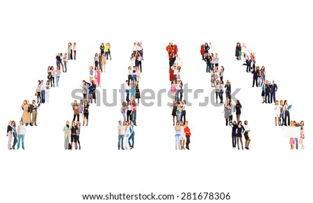 Workforce Concept Business Picture  - stock photo