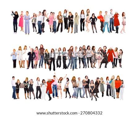 Workforce Concept People Diversity  - stock photo