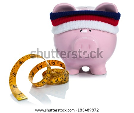 Working and strengthening your bank account - stock photo
