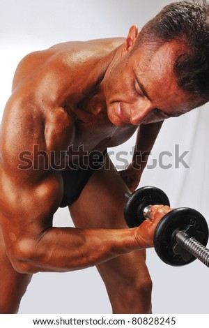Working biceps
