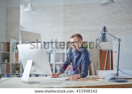Working day - stock photo