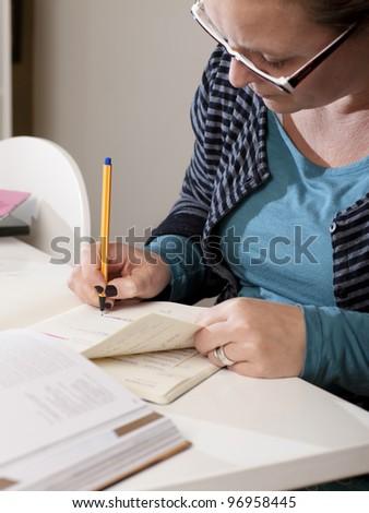 Working Hard - stock photo