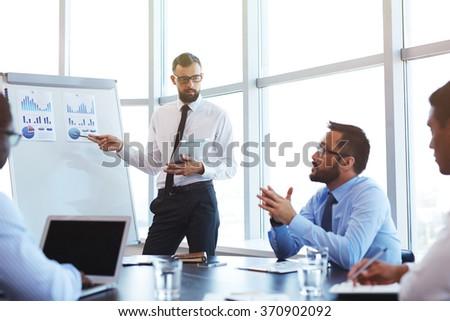 Working seminar - stock photo