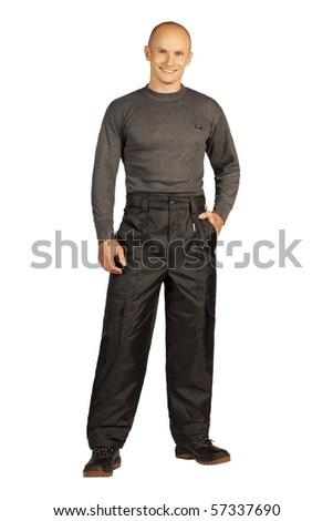 workman - stock photo