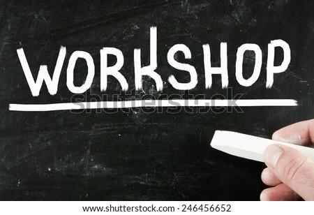 workshop concept - stock photo