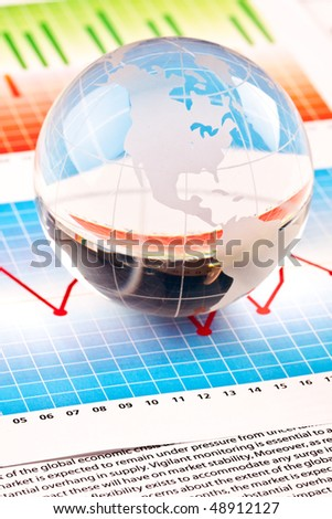 World and business - stock photo