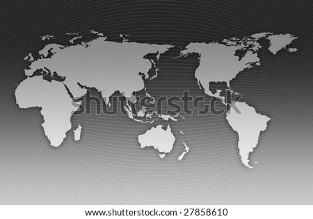 World map on dark background stock vector 203400493 shutterstock world map gumiabroncs Gallery
