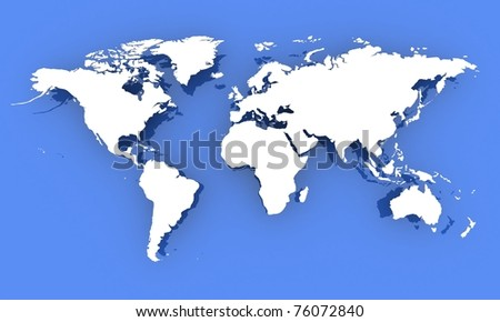 World map computer simulation stock illustration 76072840 shutterstock world map computer simulation gumiabroncs Images