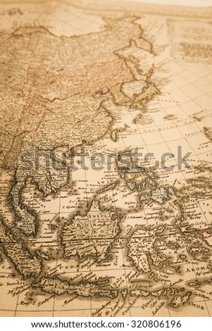 World map of Antique