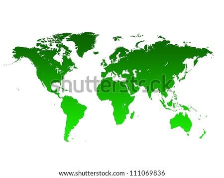 World Map, World background - stock photo
