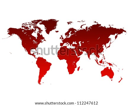 World Map, World background - stock photo