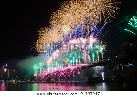 World Renown Sydney Harbour NYE Fireworks Display