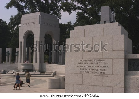 World War II Memorial - stock photo