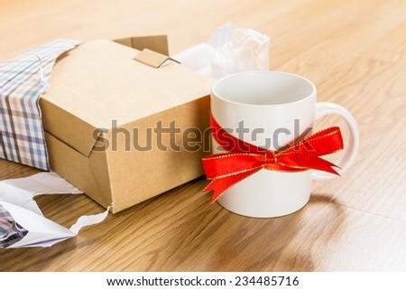 Worst gift - stock photo
