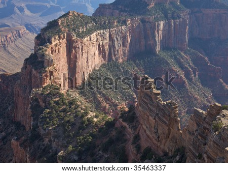Wotan's Throne Grand Canyon
