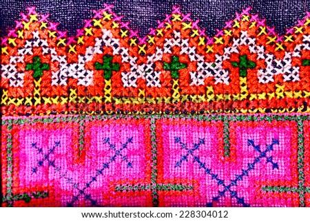 Woven fabric - stock photo
