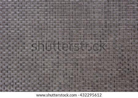 Woven grey thick wire warp textured background - stock photo