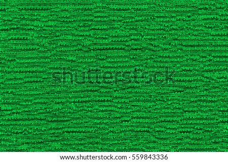 Woven synthetic fiber fabric of nylon bluish green color