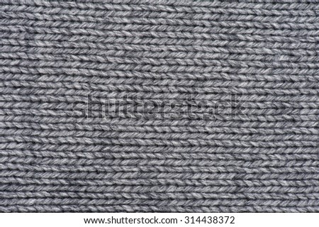 Woven wool white fabric texture - stock photo
