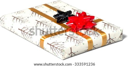 Wrapped Gift - Isolated