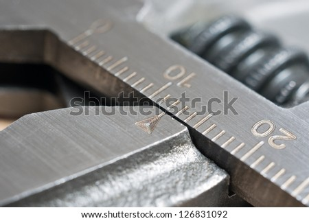 wrench detail - stock photo