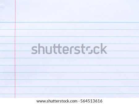 Wrinkled Notebook Lined Paper Background  Line Paper Background