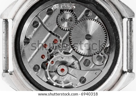 wristwatch mechanism