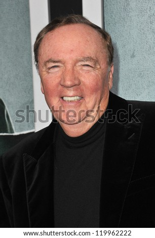 "Writer James Patterson at the Los Angeles premiere of his movie ""Alex Cross"" at the Cinerama Dome, Hollywood. October 15, 2012  Los Angeles, CA Picture: Paul Smith - stock photo"