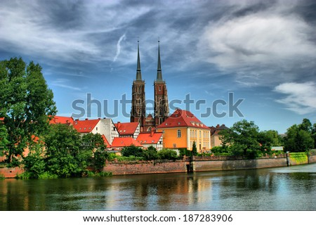 Wroclaw, cathedral, Poland