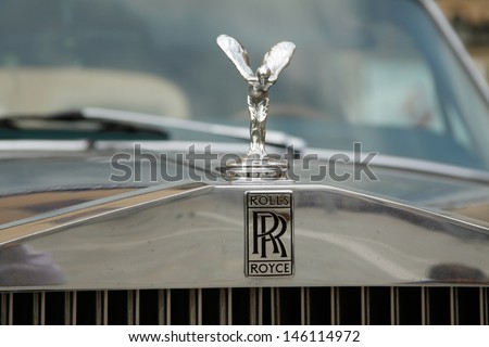 WROCLAW, POLAND - JULY 14: 5th International Rally of Rolls Royce and Bentley on July 14, 2012 in Wroclaw, Poland - stock photo