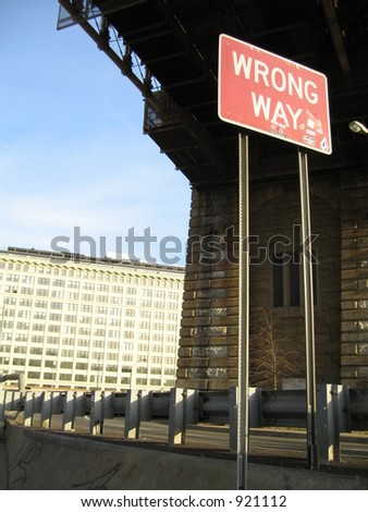 wrong way, brooklyn bridge