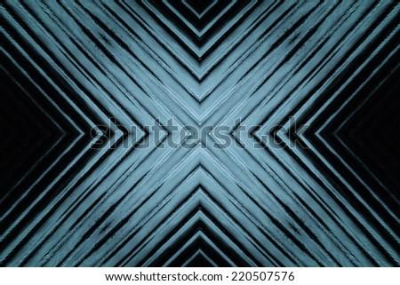 X - Glass Background - stock photo