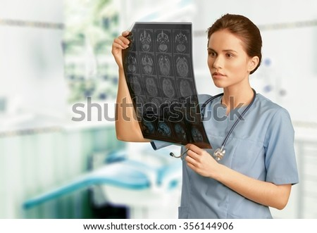 x ray technision