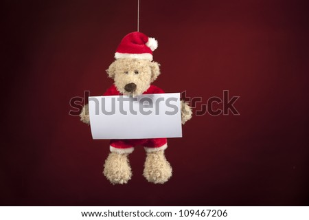 Xmas teddy bear
