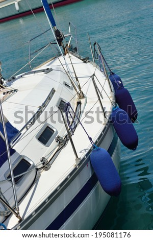 Yacht - stock photo
