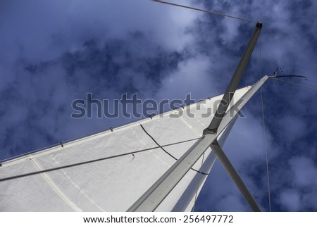 Yacht Sail - stock photo
