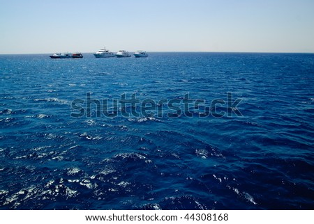 Yachts in Red sea