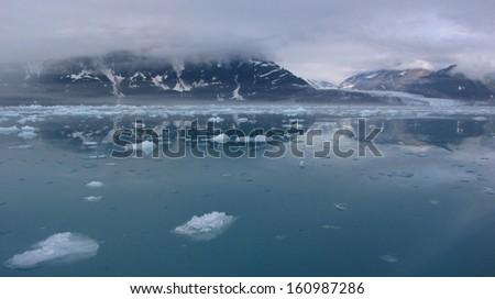 Yakutat Bay, Alaska - stock photo