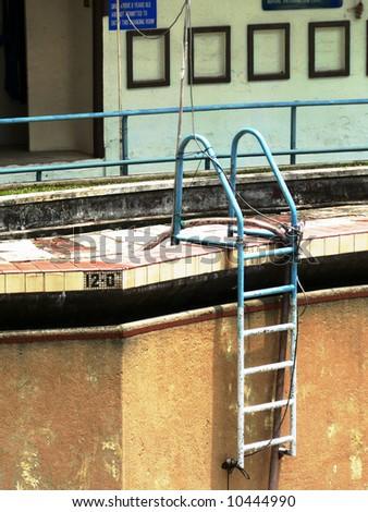 Yan Kit Swimming Complex - stock photo