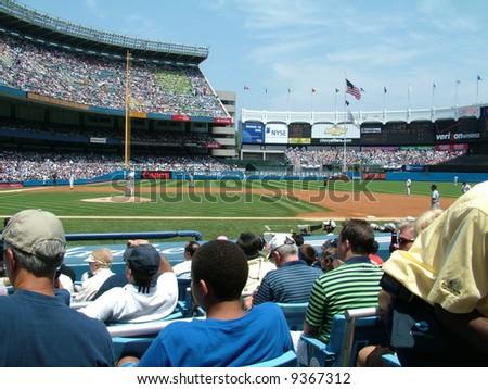 Yankee Stadium - stock photo