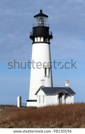 Yaquina Head Light on the Oregon Coast near Newport Oregon
