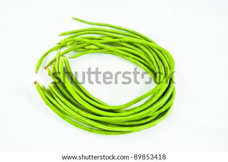Yard long bean. - stock photo