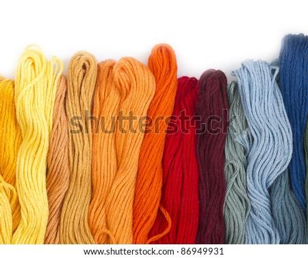 yarns - stock photo