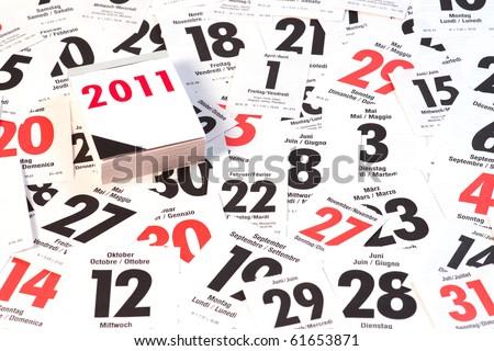 Year 2010 - stock photo