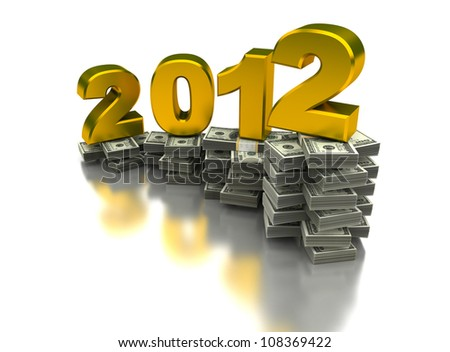 Year of the growing - stock photo