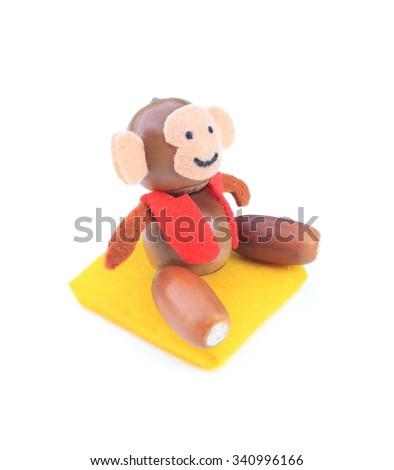 Year of the monkey - stock photo