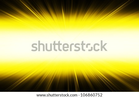 yellow abstract curves line background. - stock photo