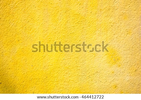 Yellow abstract painting wall useful for background