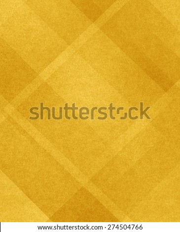 yellow background texture, gold plaid background design - stock photo